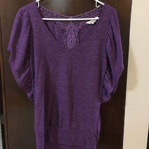 Purple top-Medium