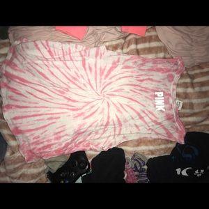 Pink muscle shirt