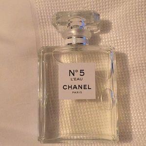 New, Chanel N 5 L'EAU Eau De Toilette 3.4