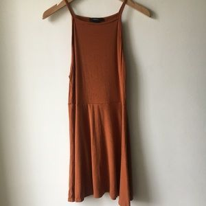 Forever 21 Rust Orange Dress - Size Small