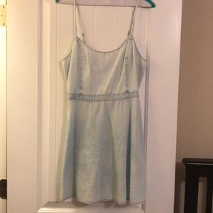 chambray dress / american eagle
