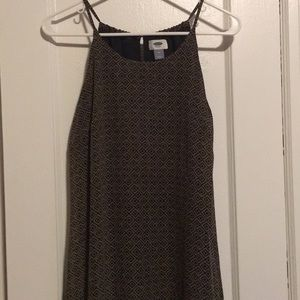 Black and Olive Maxi