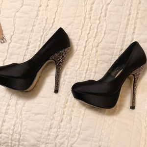 Steve Madden Heels with crystals