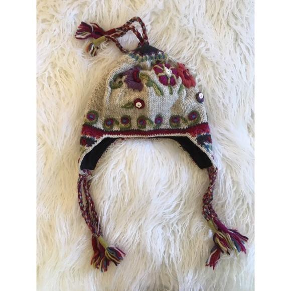 ad815c59348 Icelandic Design Nepalese Nordic Earflap Hat