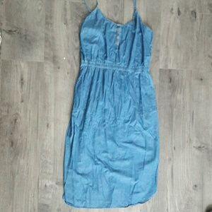 Strappy Jean dress