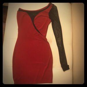 Dresses & Skirts - Red/Black Dress