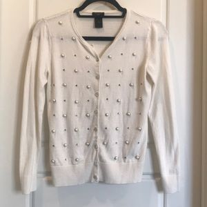 Ann Taylor Sweaters - Ann Taylor Petite embellished sweater