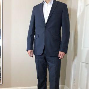 Kenneth Cole reaction blue suit men's