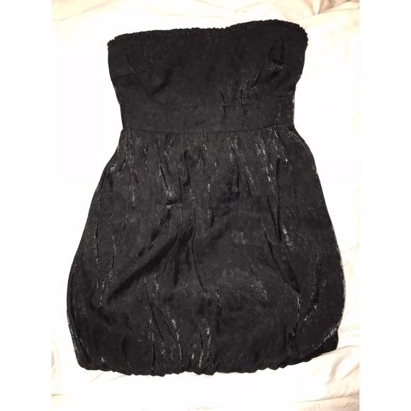 Guess Dresses Black Bubble Cocktail Dress Poshmark