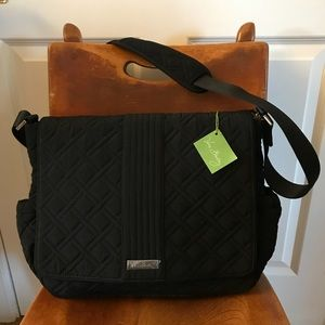 NWT Messenger Baby Diaper Bag Vera Bradley