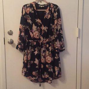 Daniel Rainn cinch-waist dress