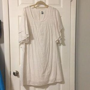 White Summer dress.