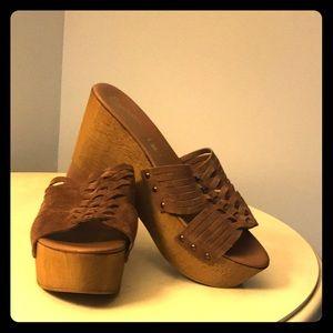 Seychelles wedge shoe