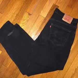 Levi's black jeans size 34x30