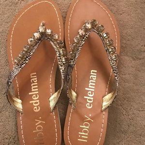 Libby.edelman Bernetta, DK Taupe sandals