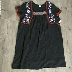 Vintage inspired peasant dress