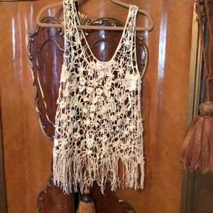 Adorable Ivory Umgee Lace Top