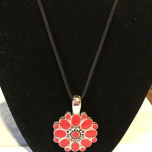 Necklace with interchangeable pendant