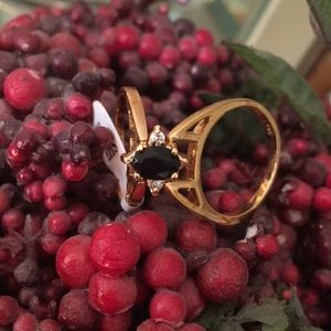 💕Reversible Gold Plated Ring💕 Size 8