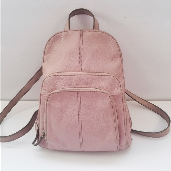 e81a0d6d1b Leather Tignanello Backpack. M 5a10a3d86d64bc893b035636
