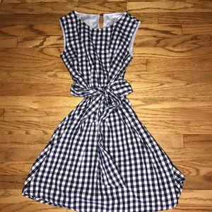 Cecil McBee Flannel Dress