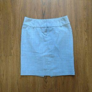 Career Express Pencil Gray Skirt - XS 0