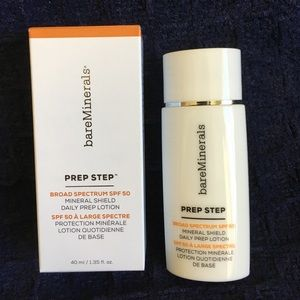 bareMinerals Prep Step SPF 50 daily prep lotion