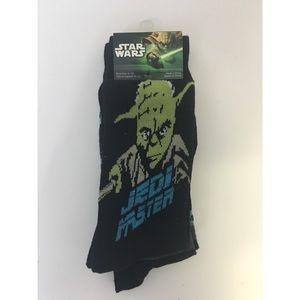 Star Wars Jedi Master 2 Pack Casual Crew Socks