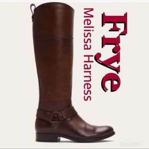 Like New! Frye Melissa Harness Boots