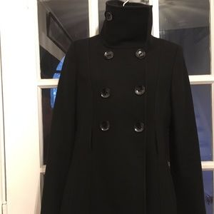 Guess Navy Blue Peacoat
