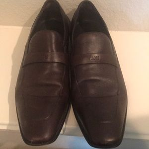 Boss by Hugo Boss Brown Loafers