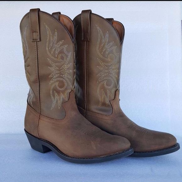 eea087a15a121 Laredo Lea Vamp Fox Cowboy Boots