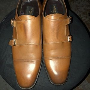 To Boot New York Double Monk strap in Walnut