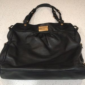 Marc by Marc Jacobs Large Black Leather Tote