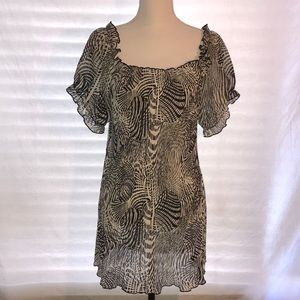 Lane Bryant Off the Shoulder Long Top, Size 18/20