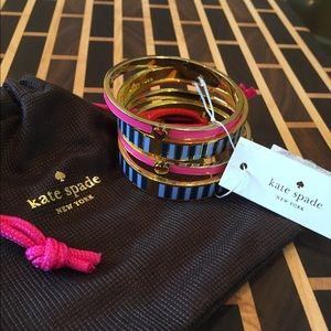 4piece KATE SPADE BANGLES NEW with TAGS