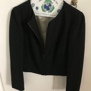 Zara black zip up jacket