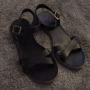 Madewell crisscross sandal