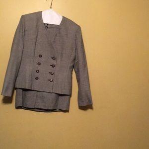 Adolfo Atelier skirt suit