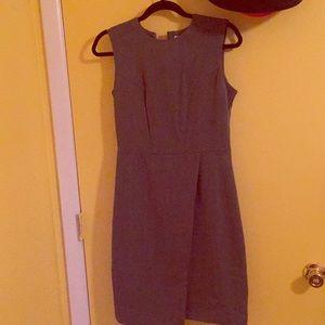 NWOT gray work dress