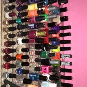 50 colors of nail polish