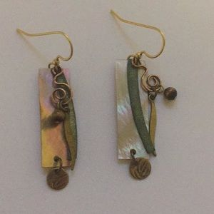 Funky handmade earrings!