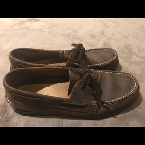 G.H. Bass & Co. Brown Leather Loafers