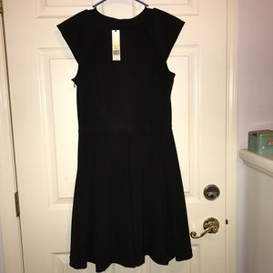 CYNTHIA A DRESS WITH PLEATED SKIRT ..