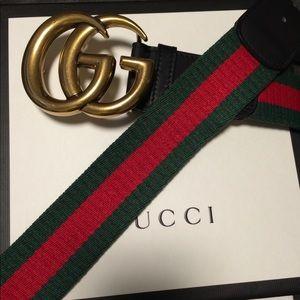 Gucci Web Belt💫