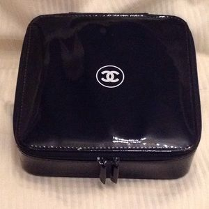 Authentic Chanel Cosmetic Makeup Bag Case VIP Gift