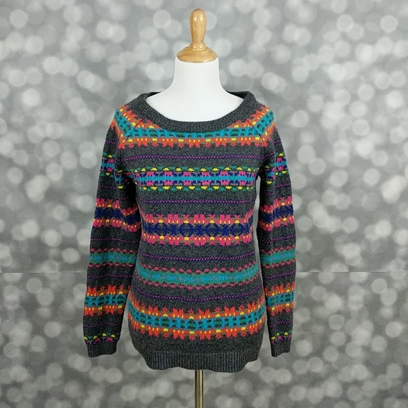 62% off Old Navy Sweaters - Old Navy Fair Isle Sweater from ...