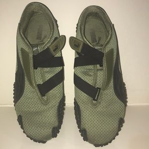 Army Green Puma Sneakers