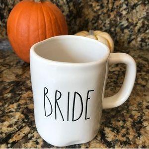 RAE DUNN MAGENTA BRIDE MUG CUP FOR COFFEE TEA
