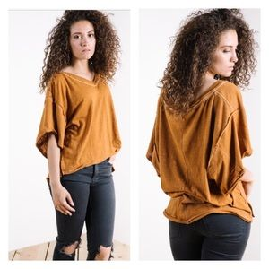 NWT Free People | We the Free My Boyfriends Tee